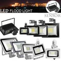 LED Flood Light 100W 50W 30W 20W 10WPIR Motion Sensor Outdoor Security Spot Lamp