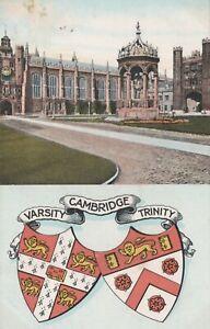 Cambridgeshire Postcard - Varsity Cambridge Trinity RS24136