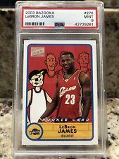 2003 Topps Bazooka Basketball LeBron James ROOKIE #276 PSA 9 LAKERS MINT