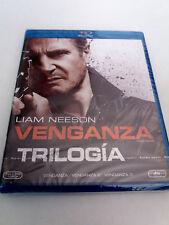 "BLU-RAY ""VENGANZA TRILOGIA 1 2 3"" 3 DISCOS PRECINTADO SEALED LIAM NEESON"