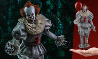 1:6 Scale Hot Toys HT MMS555 Bill Skarsgard Pennywise Solider Figure Full Set