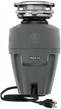 Moen 1/2 Hp Continuous Feed Garbage Disposal Kitchen Sink Plumbing Ex Series New