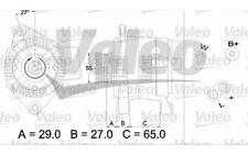 VALEO Alternador RENAULT LAGUNA 436470