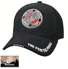 US Marine Corps Ball Cap USMC Vet The Few The Proud Korea Vietnam OEF OIF Hat