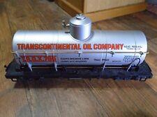 1988 LEHMANN LGB--TRANSCONTINENTAL OIL COMPANY TANKER (4080 Y 01) G SCALE
