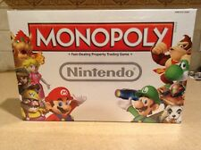 NEW AND SEALED MONOPOLY NINTENDO COLLECTORS EDITION GAME 6 Collectible Tokens