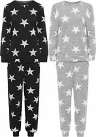Womens 2 Piece Plus Star Print Jogging Suit Ladies Loungewear Set Top Bottoms