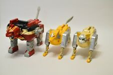 Vintage Mystery Toy Power Rangers Go Bot Transformer Tiger 3 Piece Actions Toys