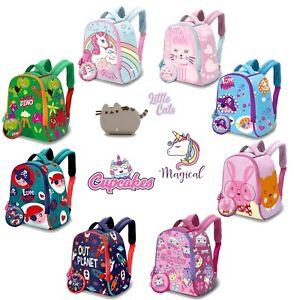 25cm Bright Colored Backpack Comfy Straps Junior School Bag