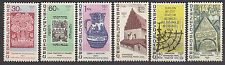 CZECHOSLOVAKIA 1967**MNH SC# 1475-80 Old-New Synagogue - Jewish relics
