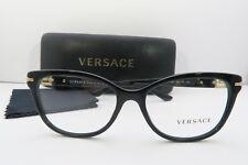 7896d7d51d Versace Women s Black Glasses With Case Mod 3205-b Gb1 52mm