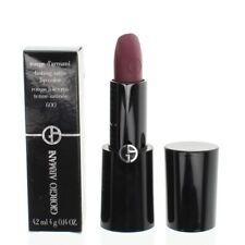 Giorgio Armani Purple Lipstick Rouge d'Armani Lasting Satin 600 Front-Row