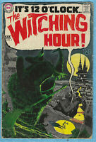 The Witching Hour # 1,1969 , horror genre. Early Neal Adams work 3.0GD/VG