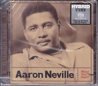 """""""Aaron Neville Warm Your Heart"""" Japan #0074 Limited Numbered Hybrid SACD CD New"""