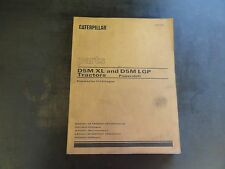Caterpillar CAT D5M XL and D5M LGP Tractors Parts Manual  XEBP7389