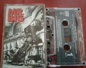 MR. BIG Lean Into It 1991 Vintage Cassette Tape