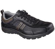 (NEW) Skechers Men Relaxed Fit Superior - Bonical Comfort Shoes/ BLK 64436 Sz 13