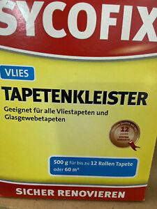 Sycofix Vliestapetenkleister Vlies-Tapetenkleber Tapetenkleister 500g  Nr.1