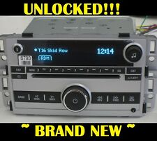 NEW~ UNLOCKED 2007-2009 CHEVY EQUINOX CD Radio 3.5mm Aux/Ipod input MP3 US8 US9