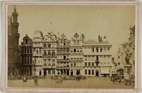 Bruxelles Grande Place Belgium Foto Ladrey P15Ln27 Vintage Albumina