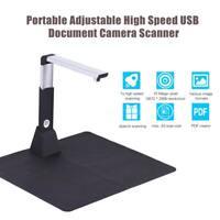 Portable Adjustable High Speed USB Book Image Document Camera Scanner 8mp N3Z5