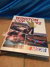 1992  NASCAR  Winston Cup Yearbook with original box  UMI Publications