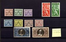 E419- VATICAN 1929 to 1935 small valuable lot of stamps MH & used stamps CV 55$