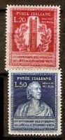 Italy LOT Sc 526-27,533-34,544-46,582-83 MINT NH  VF