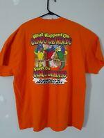 Gildan Cinco De Mayo mens size 2 XL tee shirt orange short sleeve