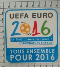 France Patch Badge LFP maillot foot Coupe de la Ligue 09/10 candidature Euro 16