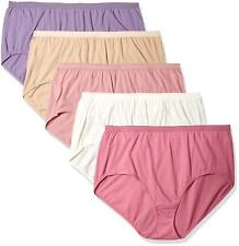 9-14 Panties 5-Pack Just My Size Microfiber Smooth Stretch Hipster Assorted