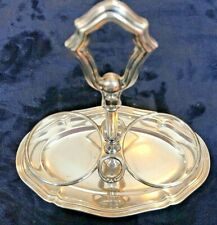Antique 800 Silver Oil & Vinegar Holder