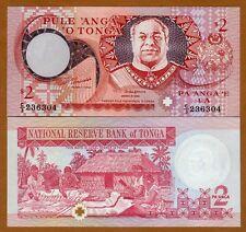 Tonga, Kingdom, 2 Pa'anga, 1995, P-32 (32c), U-F, UNC