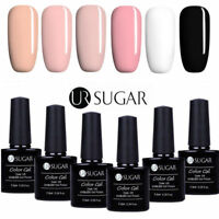 6 Bottles UV Gel Nail Polish Set 7.5ML Soak Off Gel Nails Manicure UR Sugar Gel