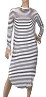 🌻THE FIFTH LABEL SIZE XS SUPER SOFT KNITTED STRIPED JERSEY MIDI DRESS