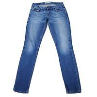 Levi's 524 Too Superlow Skinny Med Wash Jeans Size 5M 27W x 31L EUC