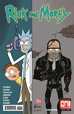 Oni Press Rick and Morty Comic Book #39 2018 Jaguar Shum Variant Cover NM