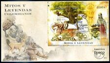 COLOMBIA - UPAEP 2012 - MITOS Y LEYENDAS FDC VF