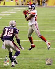 2012 SUPER BOWL XLVI 46 HAKEEM NICKS New York Giants LICENSED poster 8x10 photo