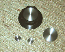 Spun Aluminum Knob inlays for Collins 75S-1 or 75S-2 receiver