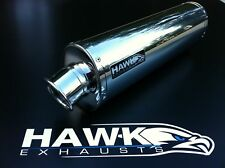 BMW F800 S & ST 2006- Stainless Steel Oval Road Legal Exhaust Silencer, UK Made