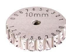 GRAVUREM-Schlagrad / Scheibenschlagstempel 0-9 3mm