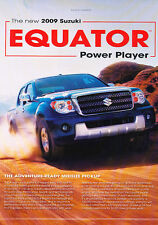 2009 Suzuki Equator - Power - Classic Vintage Advertisement Ad D67