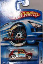 Hotwheels Mini Cooper S Long carded  2006 MINT USA only
