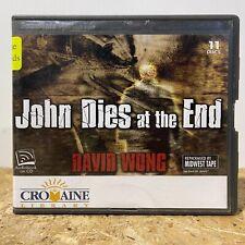 John Dies at the End by David Wong Ex Lib 11 CD Unabridged Audiobook Free Ship
