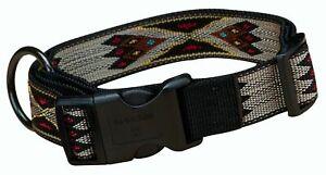 """Hamilton Southwest Pattern Adjustable Dog Collar Large 18-26"""""""