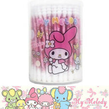 [MY MELODY] Cotton Swab Ear Buds 100pcs SANRIO Made in JAPAN NEW