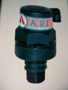 "A.R.I S-50 segev automatic air pressure release valve 16 bar 3/4"" in"
