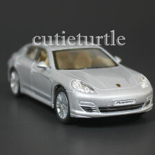 Kinsmart Porsche Panamera S 1:40 Diecast Toy Car Silver