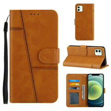Retro Wallet Leather Flip Case Cover For iPhone 12 11 Pro X XR XS Max 6 7 8 Plus